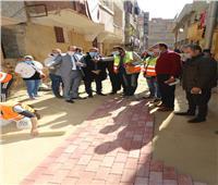محافظ المنوفية يتابع أعمال التطوير بشبين الكوم