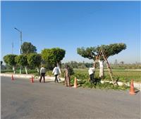 حملة نظافة شاملة على القرى والنجوع بمركز ومدينة إسنا