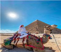 شاهد| مدونون أوكرانيون يزورون أهم المعالم السياحية والأثرية في مصر