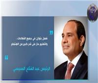 رسائل الرئيس السيسي خلال افتتاح مشروع الفيروز للاستزراع السمكي