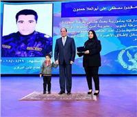 عيد الشرطة| والدة الشهيد مصطفى حمدون : «كان بدر منور»