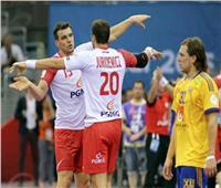 مونديال اليد  انطلاق مباراة بولندا والمجر