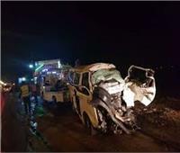 مصرع 3 وإصابة 7 في حادث تصادم بطريق «السويس-الإسماعيلية»