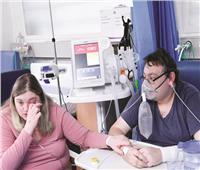 زواج فى مستشفى العزل.. أصيبا بفيروس كورونا سوياً