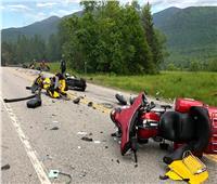 سائق شاحنة يدهس 10 دراجات نارية ويقتل 7 أشخاص .. والشرطة تعتبره ضحية