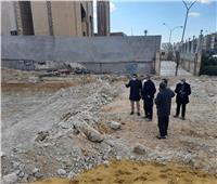 رئيس جهاز 6 أكتوبر يتفقد عدداً من مشروعات الخدمات والطرق بالمدينة