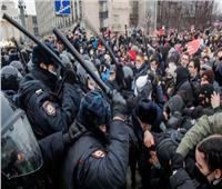 اعتقال 40 صحفيًا خلال مظاهرات في عدد من المدن الروسية