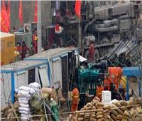 انتشال عامل صيني بعد 14 يومًا من انفجار منجم ذهب