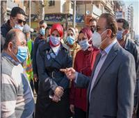 محافظ الإسكندرية: 20 مليون جنيه لرصف شارع مصطفى كامل بسيدي بشر