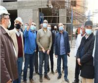 وزير الإسكان يتفقد تطوير منطقتي «سور مجرى العيون» و«مثلت ماسبيرو»