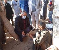 محافظ المنيا يوجه بتوفير الدعم لمواطن بلا مأوى وإيداعه بدار الرعاية