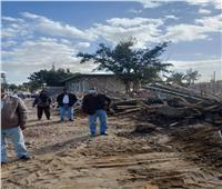 مراكز المنيا تواصل حملات وقف التعديات على الأراضي الزراعية