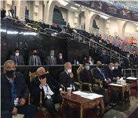 وزير الرياضة يشهد مباريات مجموعة مصر في مونديال اليد