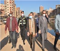 محافظ الغربية ونائبه يتفقدان أعمال التطوير والرصف بطنطا