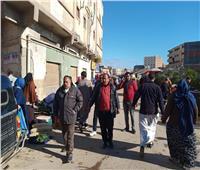 فض 4 أسواق شعبية وتحرير 82 غرامة عدم ارتداء «كمامة» بالإسكندرية