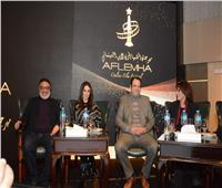 تكريم يسرا ومحمود حميدة في الدورة الأولي من مهرجان «أفلامها».. صور