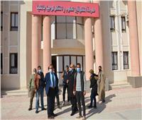 نائب محافظ المنيا يتابع التجهيزات بمدرسة المتفوقين تمهيدا لتشغيلها