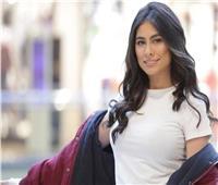 هاجر أحمد تستعرض «شياكتها» بـ«فستان مشجر»| صور