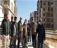 مسئولو «الإسكان» يتفقدون مشروعات الطرق والإسكان بمدينة القاهرة الجديدة