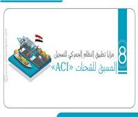 إنفوجراف| 8 مزايا لتطبيق النظام الجمركي للتسجيل المسبق للشحنات «ACI»