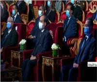 بالأسماء| أسر الشهداء المكرمين من الرئيس فى عيد الشرطة