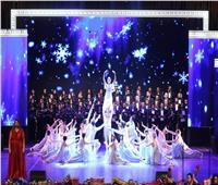 أغاني سيناترا وبوتشيلي وهيوستن وتابلوهات للباليه على المسرح الكبير
