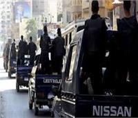 سقوط 63 من تجار المخدرات والسلاح في قبضة مباحث الجيزة