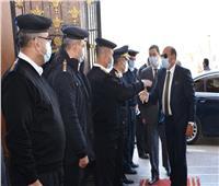 محافظ أسوان يهنئ أفراد مديرية الأمن بالعيد الـ69 للشرطة