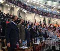 وزير الرياضة يشهد مباريات مونديال اليد باستاد القاهرة
