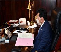 وزير الرياضة يشهد إجتماع الإتحاد الدولي للسلاح