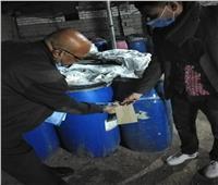 ضبط 11 طن مخللات وتحرير 16 محضرا لعدم حمل شهادات صحية بجنوب سيناء