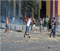 مواجهات محتدمة بين المتظاهرين والقوى الأمنية بطرابلس لبنان