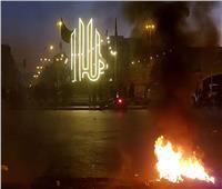 فيديو| اشتباكات بين محتجين على الإغلاق والشرطة اللبنانية