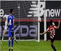 الشوط الأول   «جارسيا» يمنح بيلباو التعادل مع خيتافي في الليجا الإسبانية