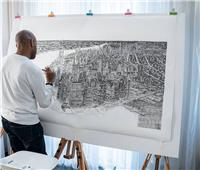 حكايات| يرسم مدنا في أيام.. قدرة خارقة تحول عين رجل لكاميرا بشرية