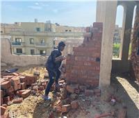 حملات لإزالة مخالفات البناء ورفع الإشغالات بالقاهرة الجديدة