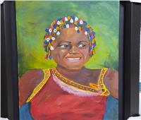 ٤٠ لوحة للفنانة صفاء شرابي في معرض بالأوبرا