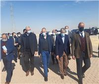 محافظ المنيا يستقبل وزيري الري والزراعة لمتابعة عدد من المشروعات