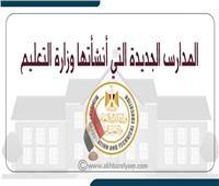 إنفوجراف | المدارس الجديدة التي أنشأتها وزارة التعليم