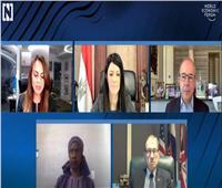 وزيرة التعاون الدولي: المرأة أثبتت مرونة وقدرة كبيرة خلال أزمة كورونا