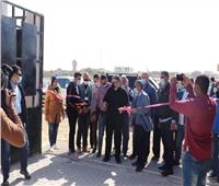 محافظ البحر الأحمر يفتتح محطة معالجة الصرف الصحي بمرسى علم