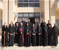 اجتماع مجلس الأساقفة والبطاركة الكاثوليك بمصر