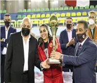 الأهلي بطلا لكأس السوبر لكرة السلة سيدات