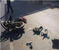 مصرع شقيقين في حادث تصادم مروع بسوهاج