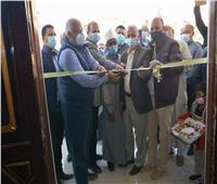 محافظ الوادي الجديد يفتتح مسجد الروضة بقرية القصر