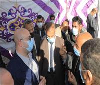 محافظ بني سويف يستمع إلى مقترحات أهالي قرى الحمام بمركز ناصر
