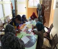 «سنة جديدة وأطفال سعيدة»..أولى ورش التمكين الثقافي بريفا في أسيوط