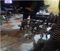 مصادرة 340 شيشة في حملات مفاجئة على مقاهي وكافيهات الإسكندرية