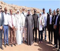 رئيس البرلمان العربي يزور اليمنيين بمخيم أبخ للاجئين بجيبوتي