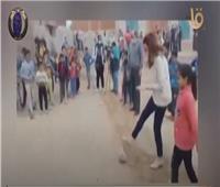 «لعبت مع العيال».. نائب محافظ الجيزة تقود البنات لفوز كروي في «الجزيرة الشقراء»| فيديو